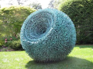 """""""Syntax"""" by Steve Tobin. Copper, bronze."""