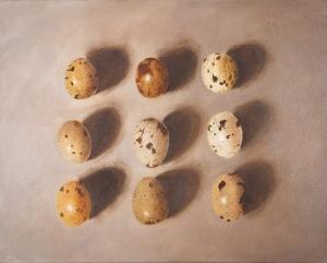 annie abdalla art eggs