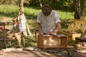 Young apprentices (18th c) at work