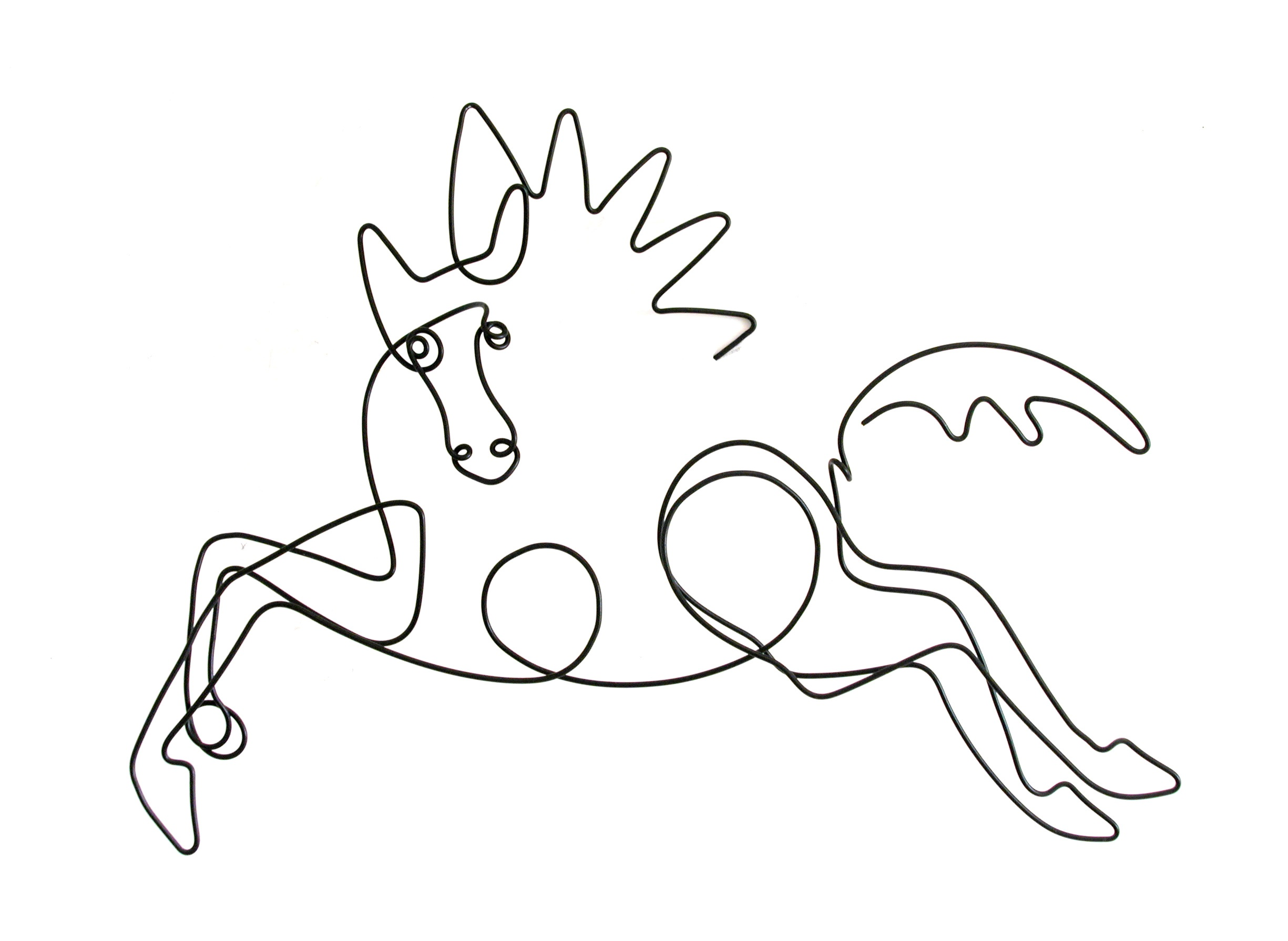 Picasso Line Drawing Face : Humanities high horse « ann e michael
