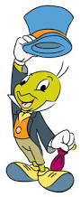 Jiminy Cricket copyright Walt Disney Co.
