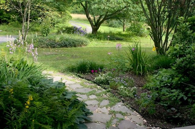 My walkway garden