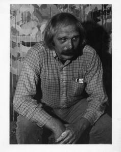 Arthur Cadieux in 1978, a photo taken by Jim Terkeurst.