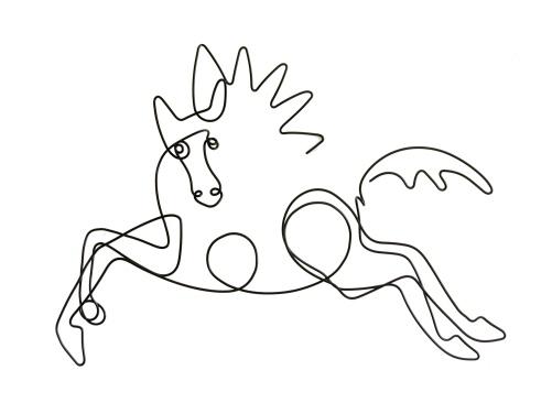 running_horse