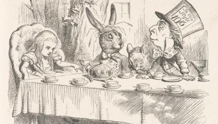 mad hatter tea party tenniel