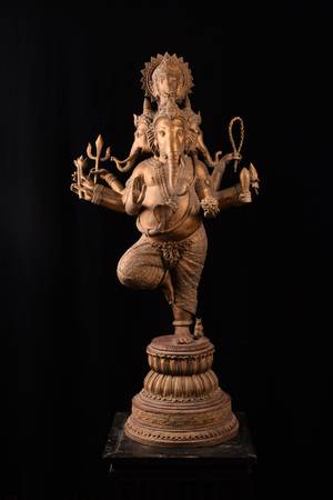 dancing god ganesha